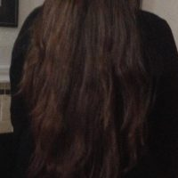 25 Inches Long Brown Hair