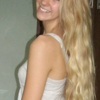 "10"" of beautiful virgin blonde hair!"