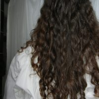 14 inches uncut thick virgin hair