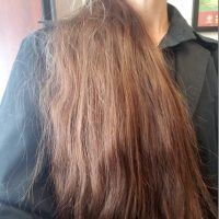 Virgin Brown Long Hair - very healthy