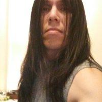 Long black hair, Eskimo heritage from N.L. Canada.