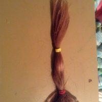 Dark Blonde Hair- 14+ inches