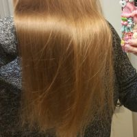 Dark Blonde naturally straight virgin human hair