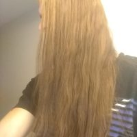 Light brown 11'in long hair for sale
