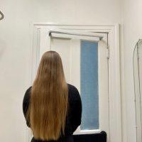 Golden VIRGIN Blonde Hair