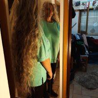 1meter hair