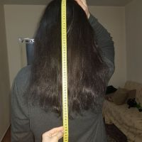 24 INCHES LENGTH , 4 INCHES WIDE MAN'S VIRGIN HAIR