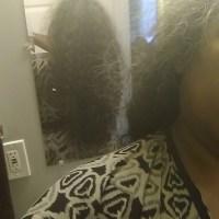 Brown salt and pepper hair