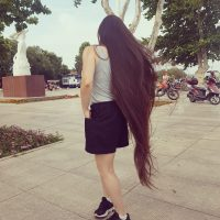120cm of silky straight virgin beautyful hair