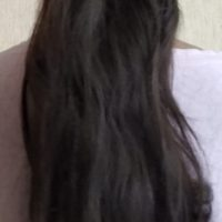 14 inch extra virgin healthy black hair circumference 4 inch