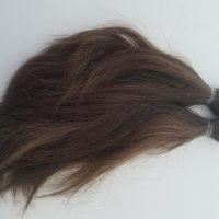 Dark Brown 10 inch 4 Inches Thick Virgin Hair