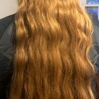 30 Inches of Virgin Light Brown/Dirty Blond Wavy Hair - Grown over about 8 years - $546 OBO - email