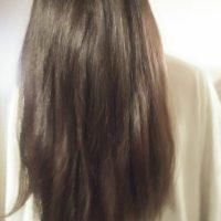 Make an offer. Dark brown/ black virgin male straight Native American Hair.
