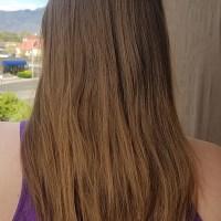 """11"""" Very Dirty Blonde - Brown Virgin Hair"""