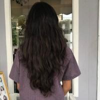 """100% virgin 15"""" indian black hair"""