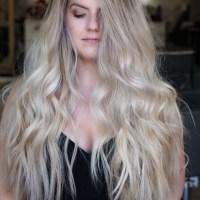 "15"" Ash/ Plaitnum Blonde thick healthy hair"