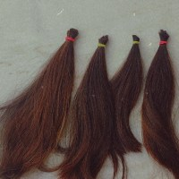 brown non virgin hair