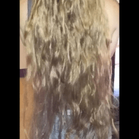 Virgin hair very long