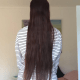 Taking offers for up to 18 inches of reddish brown hair