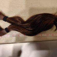 """11"""" brown healthy virgin hair."""