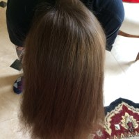 Beautiful Thick Brown Wavy Virgin Hair - Never dyed!