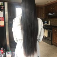 Beautiful thick virgin black hair
