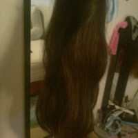 I have shaved off my beautiful long brown waves hair to sell. It is healthy and strong. Aproxometly