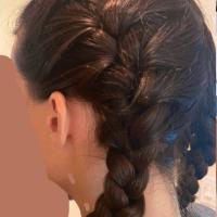 Virgin Deep Brown Wavy Hair 12 inches