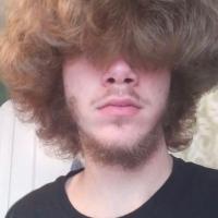 Virgin Curly dirty blonde hair