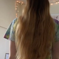 24 inch thick brown hair