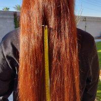 "16"" Auburn hair"