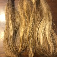 Medium Blonde Light Highlights Minimal Heat and Products Used