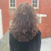 """12"""" Bouncy Brown Virgin Curls"""