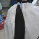 "51"" Fresh Cut Silky Black Ponytail"