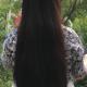 """13-15"""" Virgin Asian Hair with Brown Streaks"""