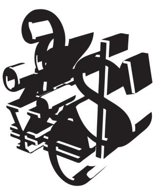 Money Symbols Abstract 4 - svilen001