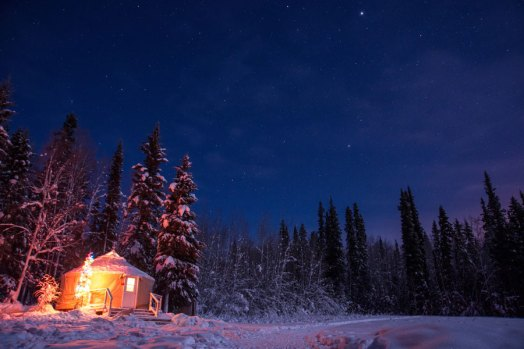 yurt-winter-night