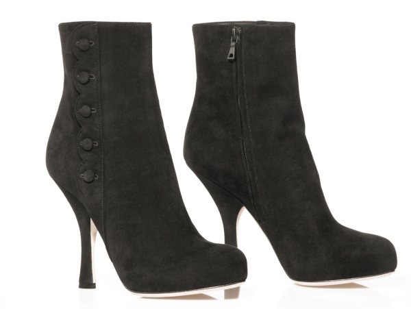 Dolce & Gabbana tronchetto shoes boots