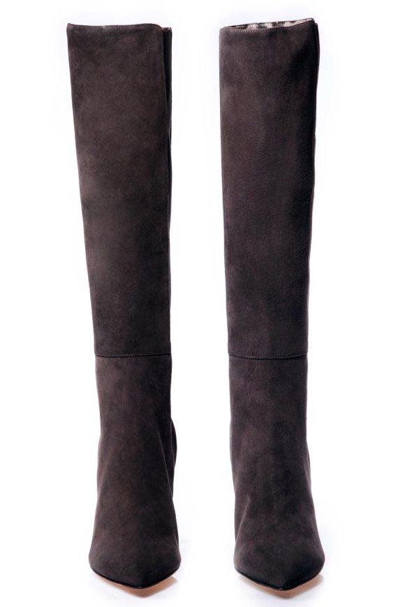 Dolce & Gabbana stivali pelle nero boots shoes