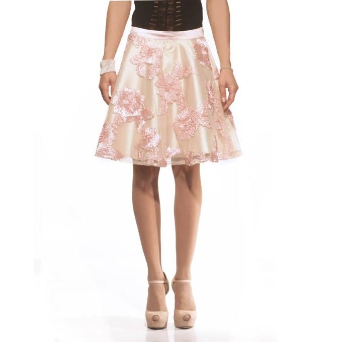 Be Chic, gonna fiori, flower skirts