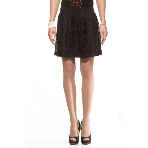 Guapperie, gonna corta, pizzo, skirts, lace