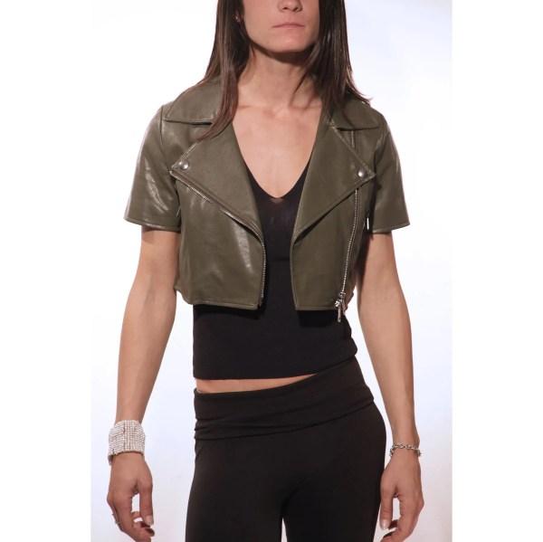 Vicolo, giacca extra corto, jacket mini