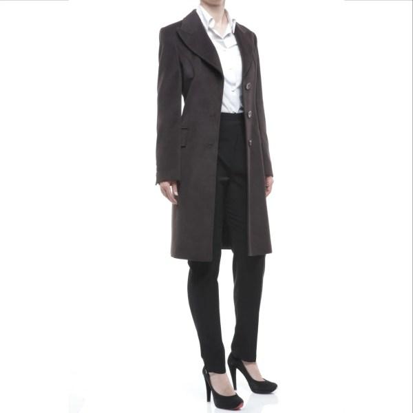 Sorgente cappotto donna monopetto