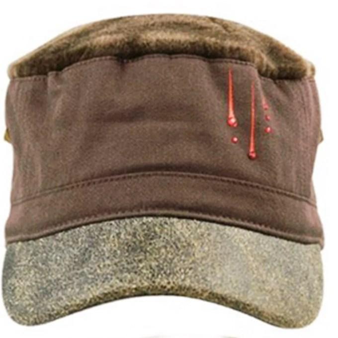 KEYONE - military woman hat with urban love visor