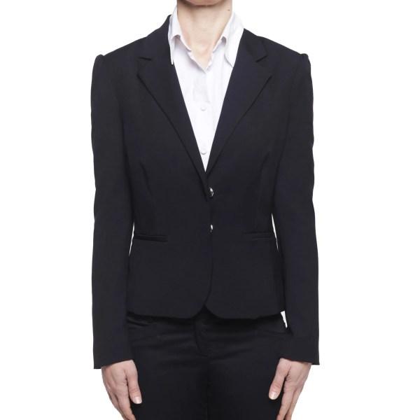 Silvian Heach giacca blazer corto donna nero XS