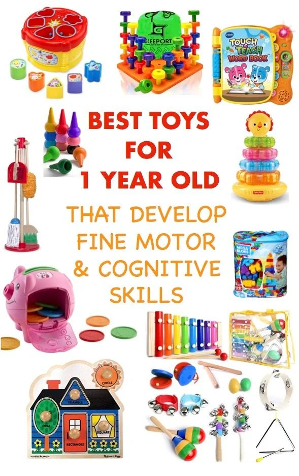 Best Developmental Toys for 1 Year Olds - Just Simply Mom
