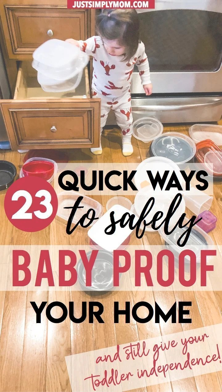 How to Safely Child Proof Your House