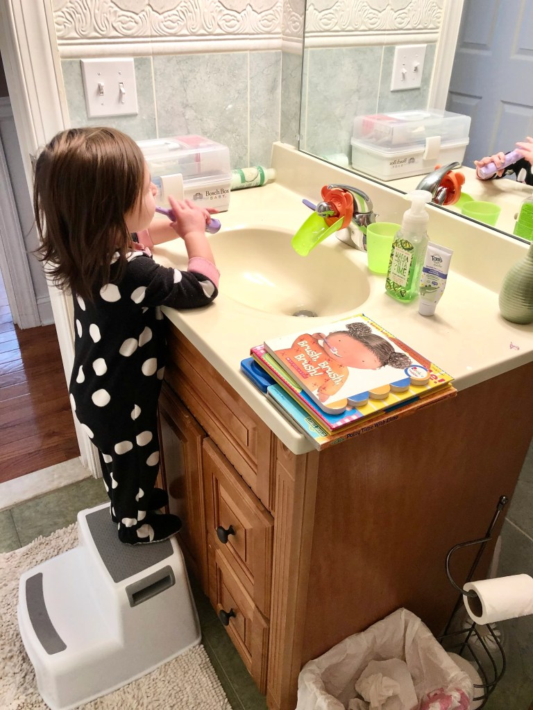 Trying to get your toddler to brush their teeth can be a tough struggle. Try these helpful tips to make it fun and give your child control.