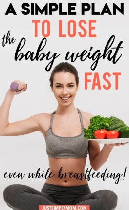 i lost weight while breastfeeding