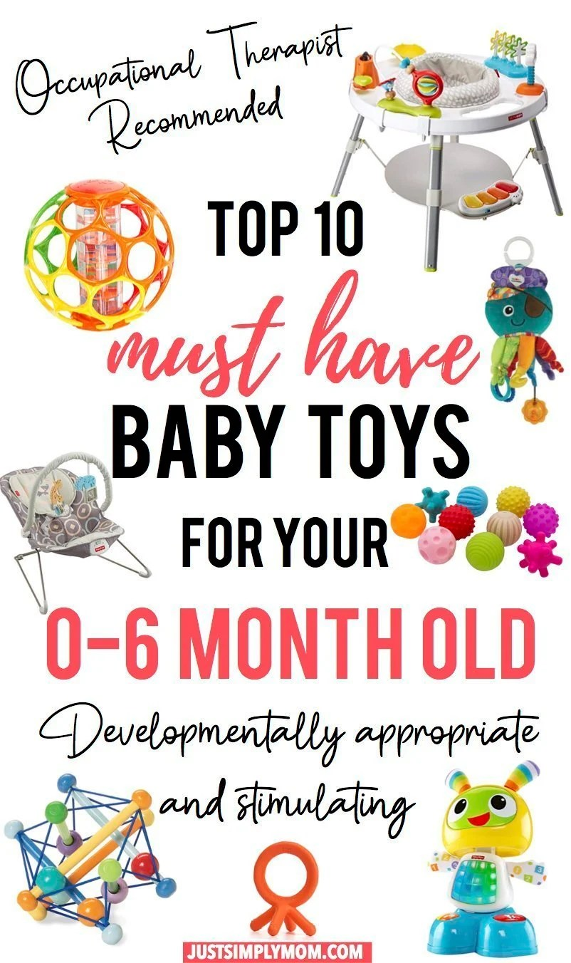 Top 10 Must Have Baby Toys for Your Newborn to 6 month Old